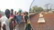 সেতুর ঢালাইয়ে শ্রমিক সেজে এমপি