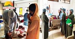 চন্দ্রঘোনা খ্রীস্টিয়ান হাসপাতালে চলছে স্বাস্থ্যসেবা কার্যক্রম