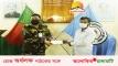 সড়ক দুর্ঘটনায় আহত শিক্ষার্থীর পাশে দাঁড়ালো বাংলাদেশ সেনাবাহিনী