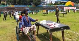 রাঙামাটিতে দ্বিতীয় বারের মতো সেনাবাহিনীর 'এক মিনিটের বাজার'
