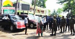 রাঙামাটিতে সেনা-পুলিশের টহল জোড়দার