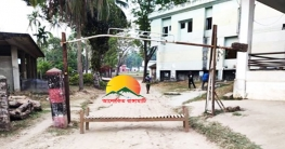 করোনা প্রতিরোধে চন্দ্রঘোনা মিশন এলাকা বহিরাগতদের প্রবেশ নিষেধ