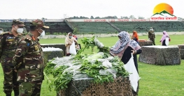 খাগড়াছড়িতে বাংলাদেশ সেনাবাহিনীর ব্যতিক্রমধর্মী ঈদ বাজার