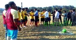 রাইখালীর ভালুকিয়ায় প্রীতি ফুটবল টুর্নামেন্ট উদ্বোধন