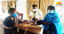 কাপ্তাইয়ের রাইখালীতে বয়স্ক, বিধবা ও প্রতিবন্ধী ভাতা প্রদান