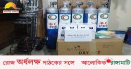 রাঙামাটি রেড ক্রিসেন্ট ইউনিটকে অক্সিজেন সিলিন্ডার প্রদান