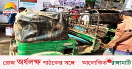 চলন্ত সিএনজিতে হঠাৎ আগুন, পুড়ে গেছে লক্ষাধিক টাকার মালামাল