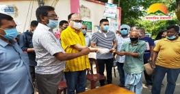 রাঙামাটিতে সিএনজি চালক সদস্যদের মাঝে নগদ অর্থ সহায়তা প্রদান