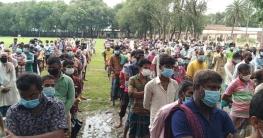 নকলায় অসহায় পরিবার পেল প্রধানমন্ত্রীর মানবিক সহায়তা
