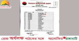 নানিয়ারচর উপজেলা ছাত্রদলের আহবায়ক কমিটি গঠন