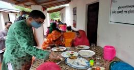 কুমিল্লায় আশ্রয়ণ প্রকল্পের ঘরে ঈদের আনন্দ